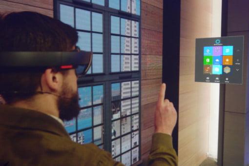 Hololens App Review 01 – START MENU – Reality Check